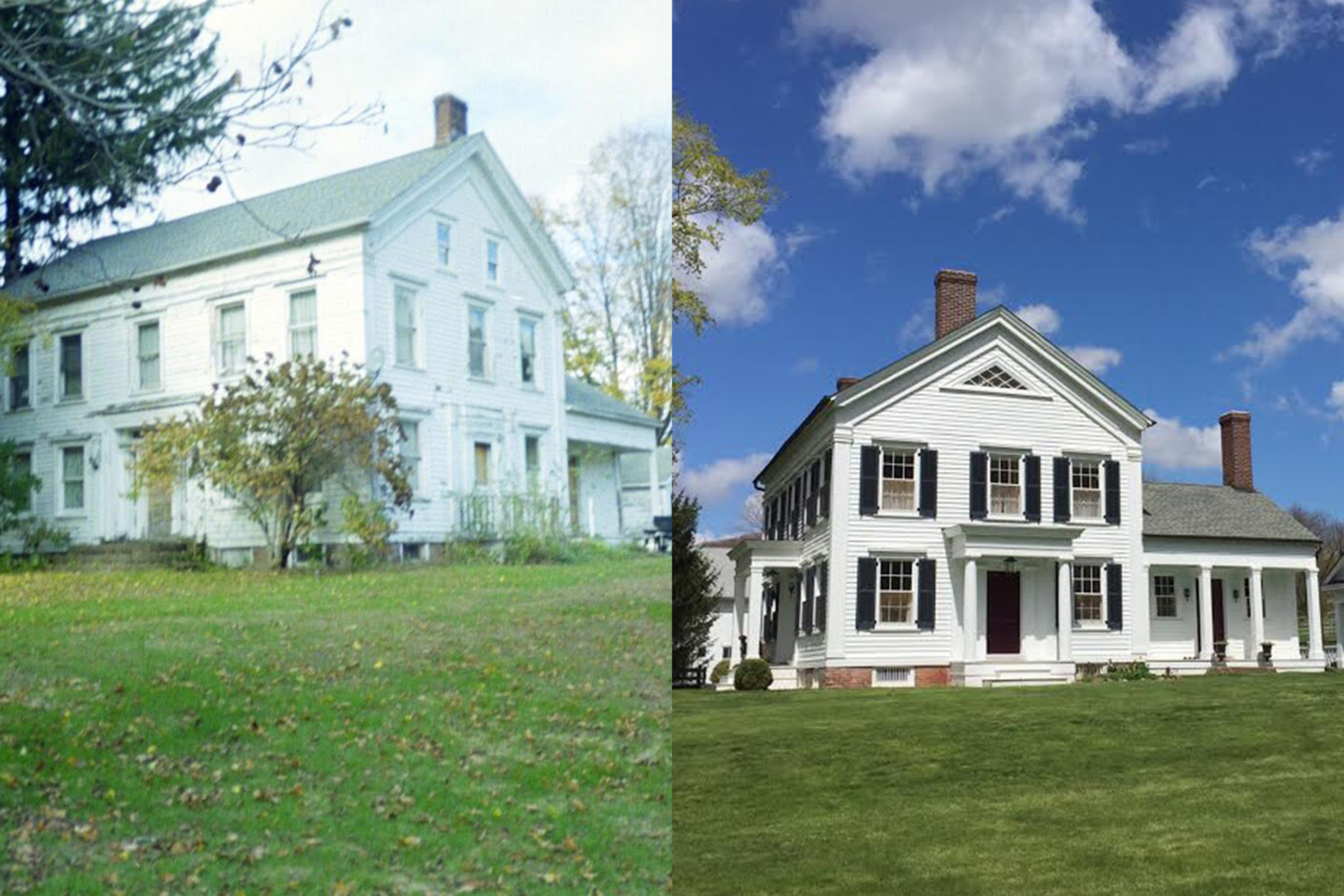 How to renovate a historic home and live to tell the tale for Exterior home renovations