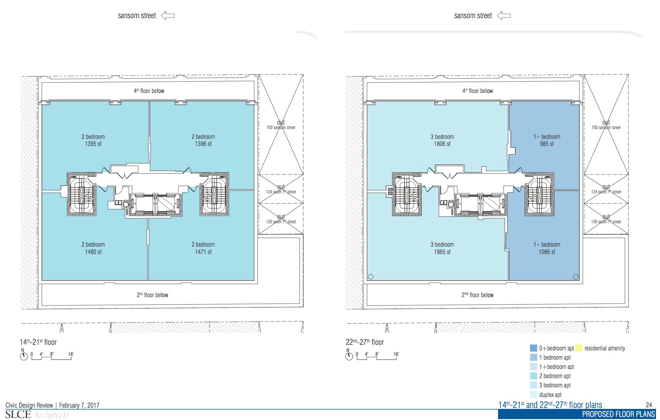 proposed jewelers row floor plans released ahead of design review proposed jewelers row floor plans released ahead of design review