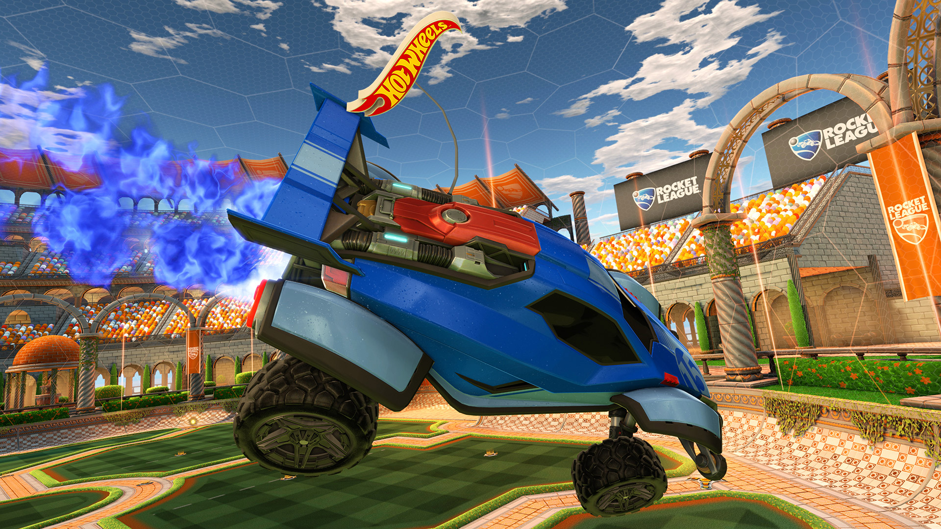 Rocket League Getting Hot Wheels Cars Polygon