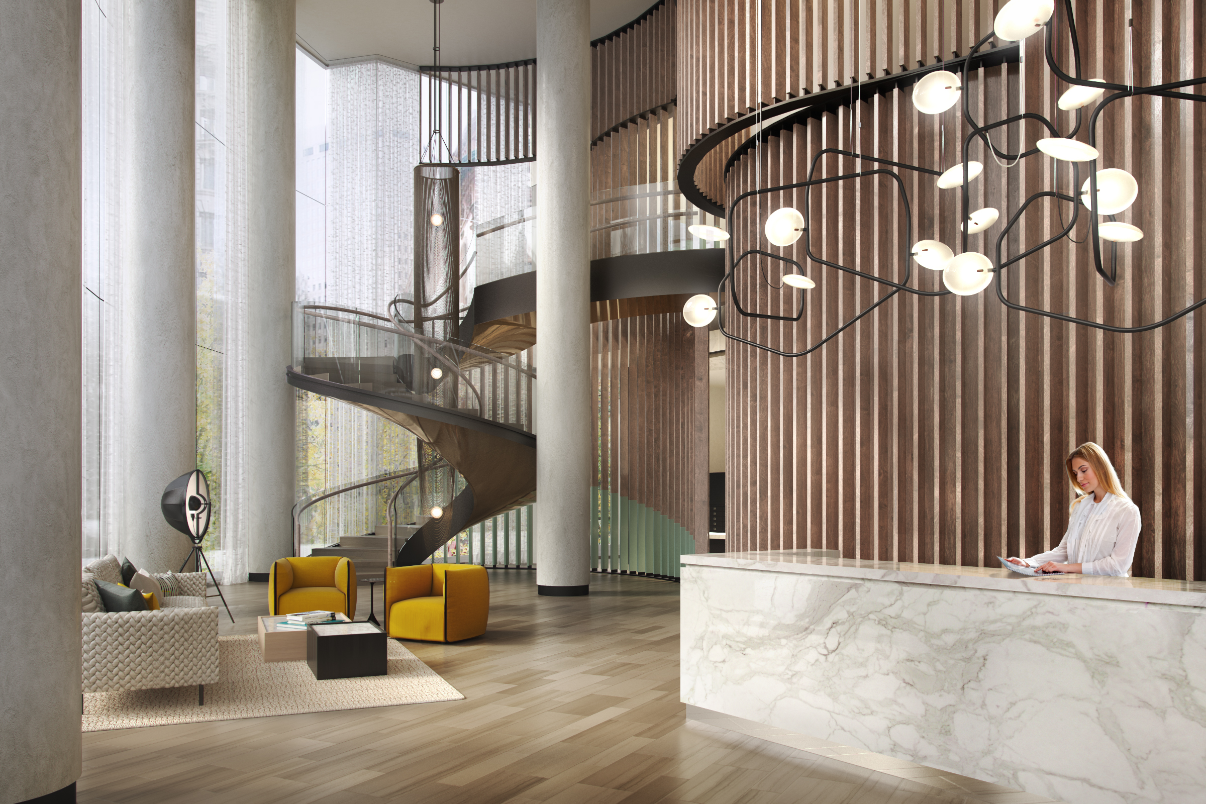 Curvy Murray Hill Rentals With Rockwell Group Interiors