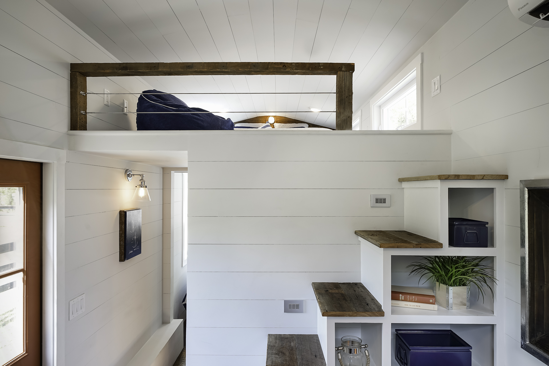 Loft Bedroom Privacy 5 Tiny House Designs Perfect For Couples Curbed