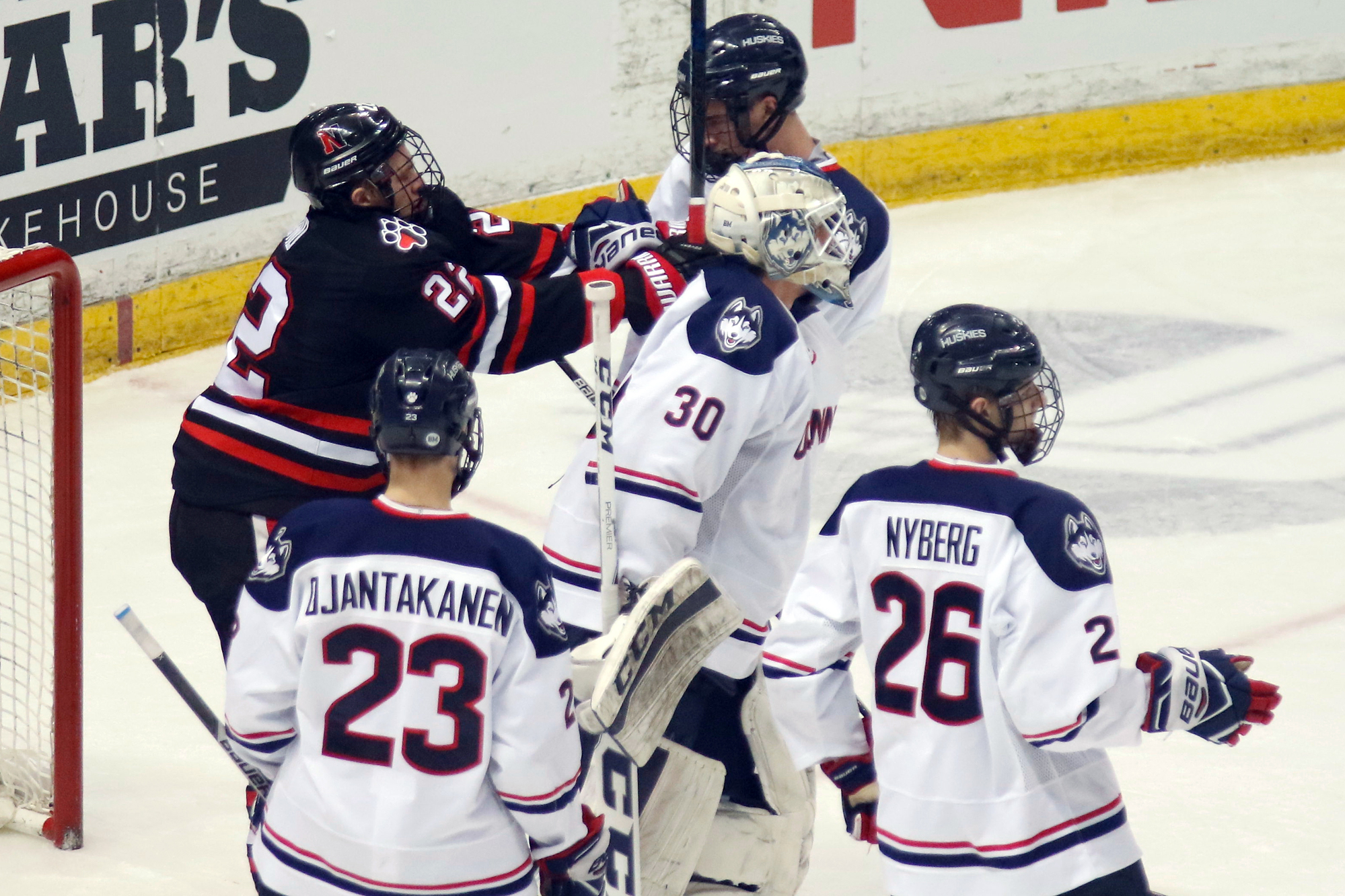 cheap for discount ba622 ff720 Photos-MHOC: Northeastern Huskies @ UConn Huskies - 2/17/17 ...