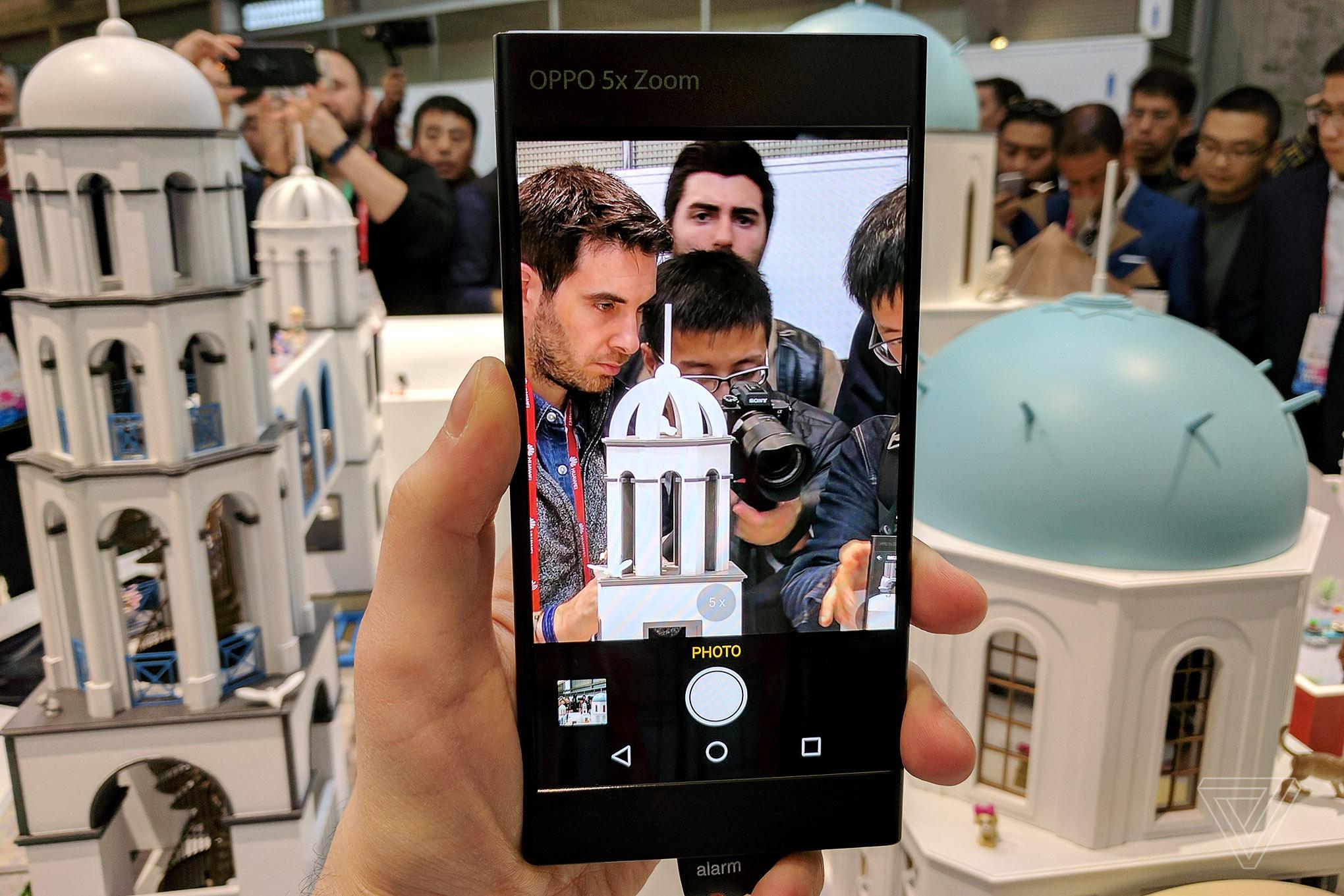 oppo s 5x zoom camera is an ingenious prototype that
