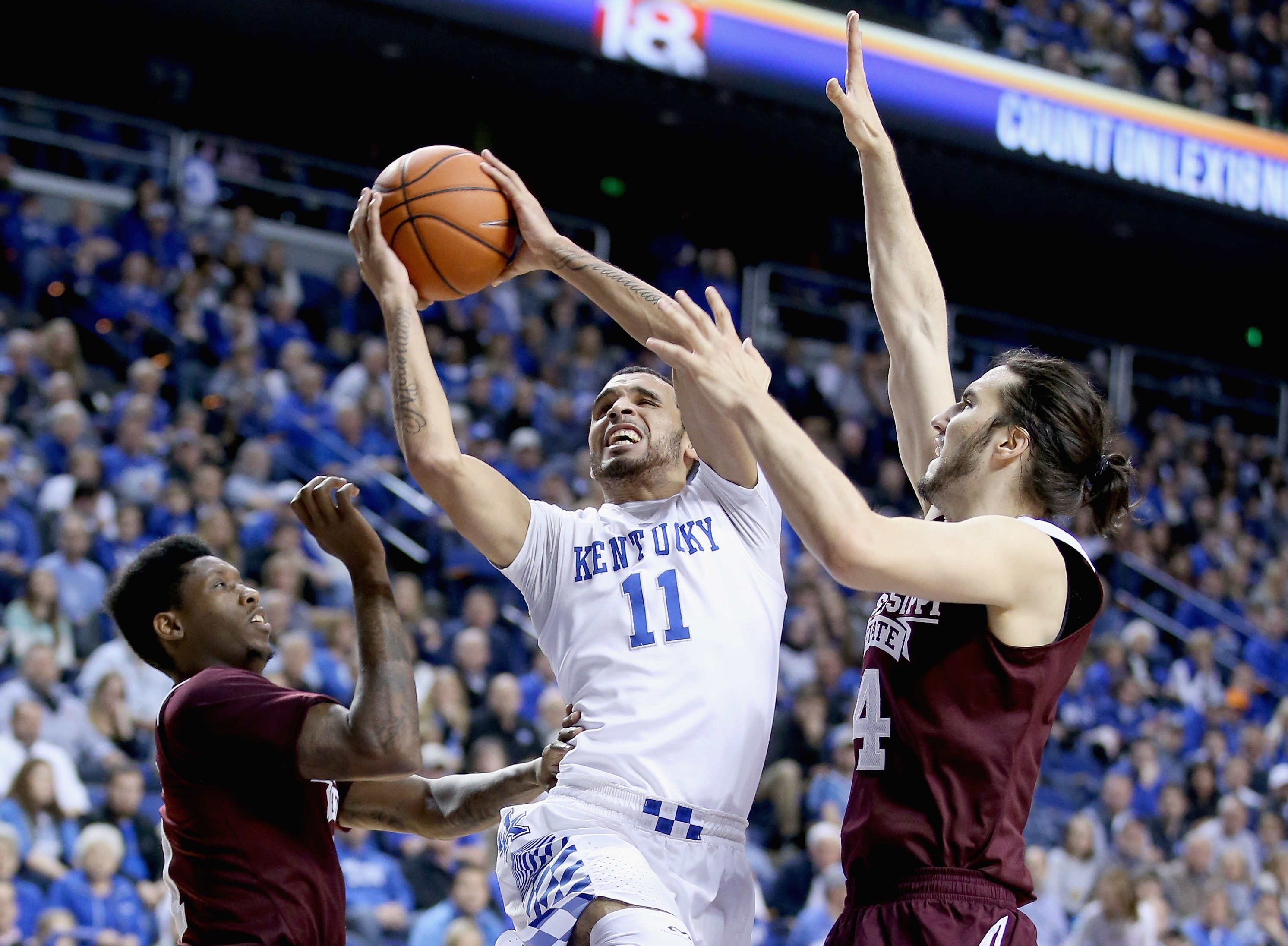 Biggest comeback in Calipari era keeps Kentucky's SEC home winning streak alive
