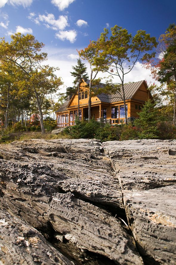 Oceanfront Cottage In Maine With Killer Views Asks 2m