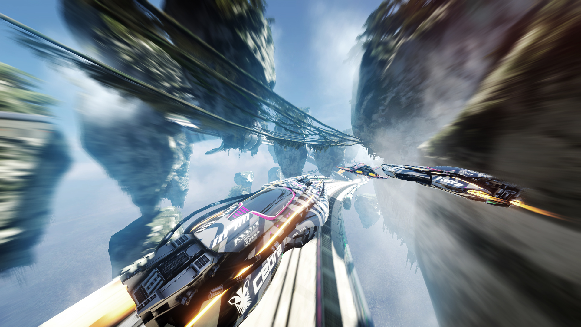 nintendo switch racing game fast rmx is a great riff on f zero and