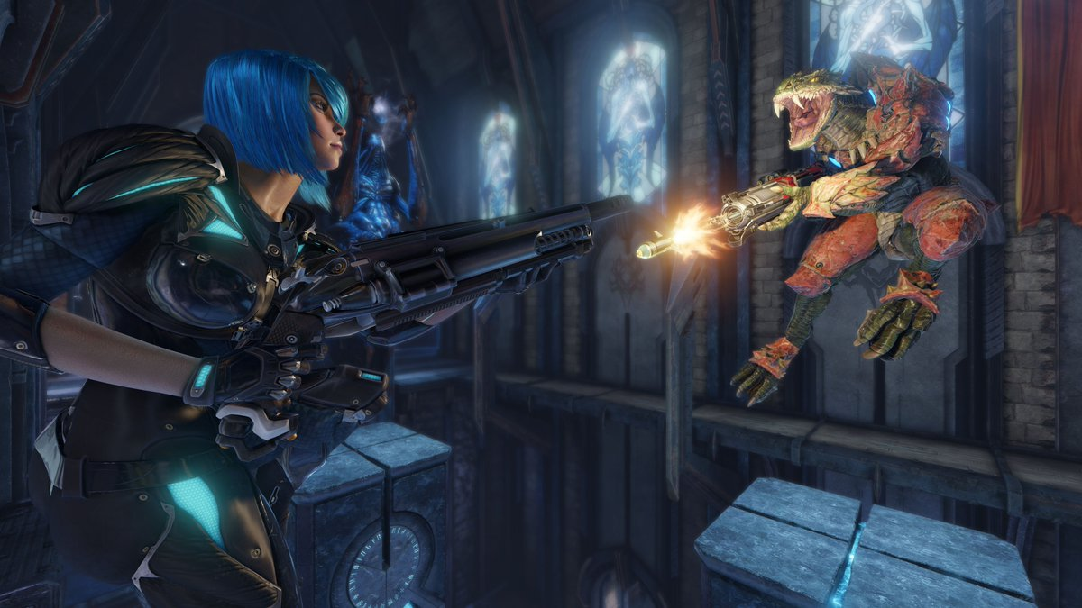 Quake Champions Confirmed To Be Free To Play, Two New Trailers Released