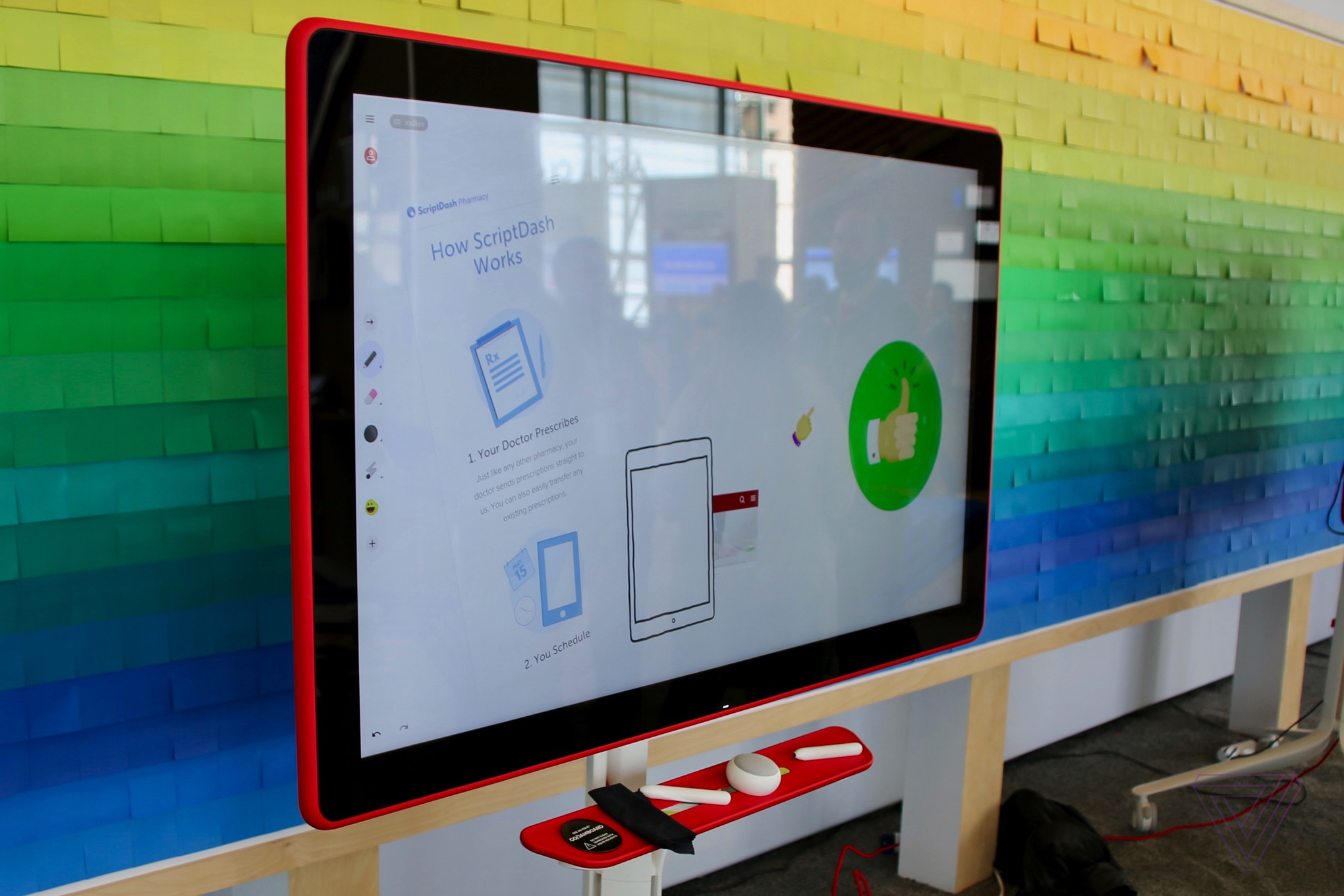 Google Jamboard to be available in the U.S.  in May for $4999