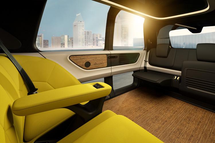 volkswagen unveils 39 sedric 39 driverless car concept curbed. Black Bedroom Furniture Sets. Home Design Ideas