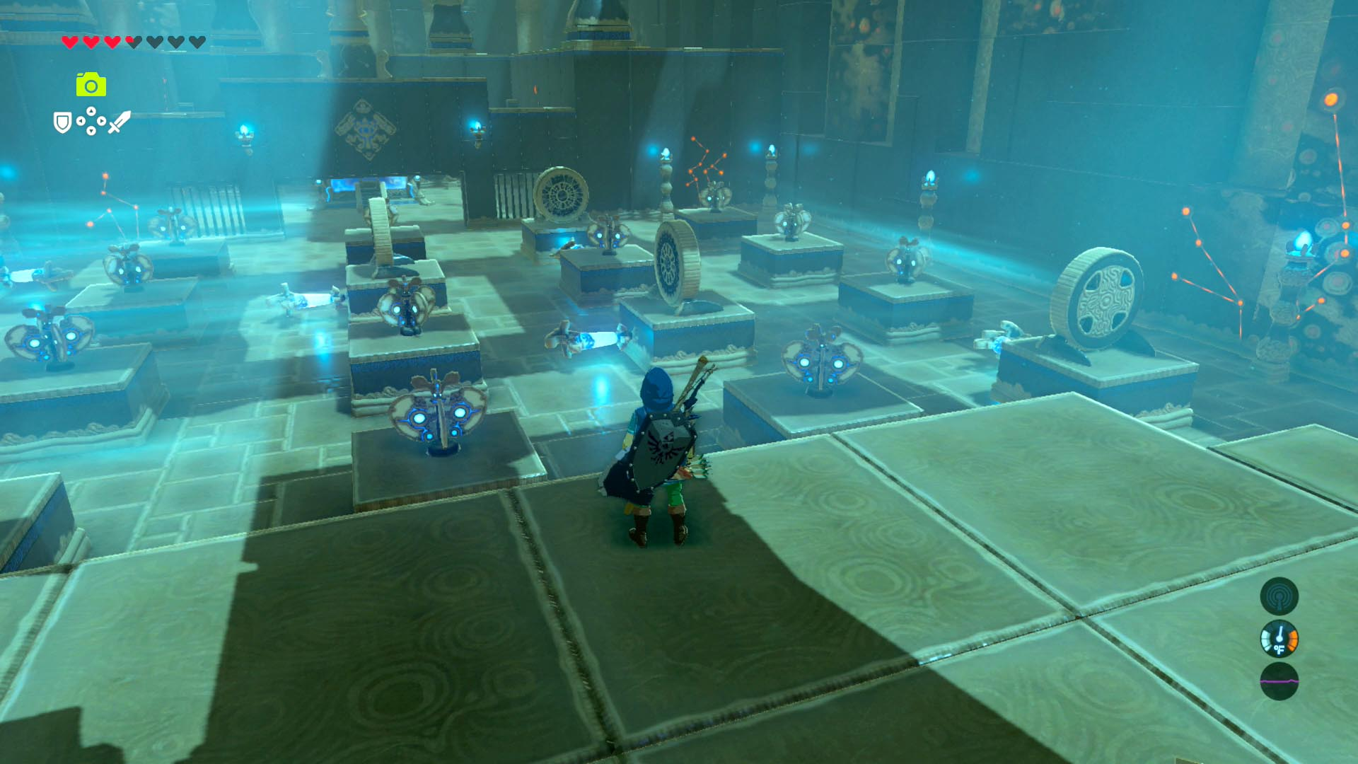 Zelda Breath Of The Wild Guide Akh Va Quot Shrine Walkthrough Treasure Chest And Puzzle Solutions Polygon This shrine's in the center of lake totori though. zelda breath of the wild guide akh va