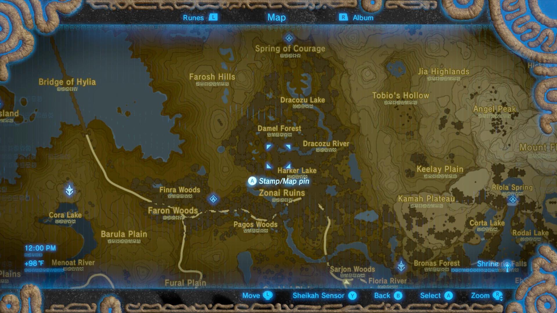 Zelda Breath of the Wild guide: Shae Katha shrine