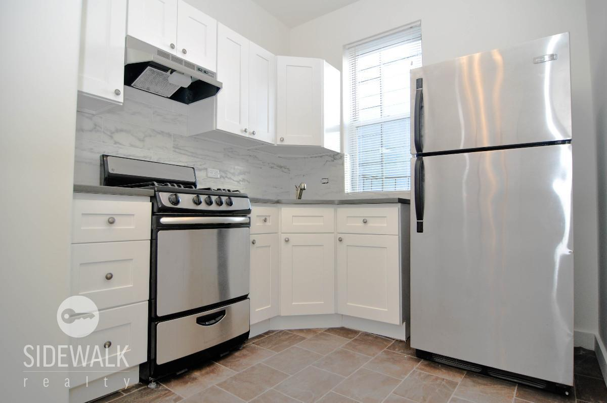 exceptional Renting Kitchen Appliances #8: For $1,750/month, rent this renovated studio in Williamsburg bedecked with  new hardwood floors, new kitchen appliances, and loads of sunlight.