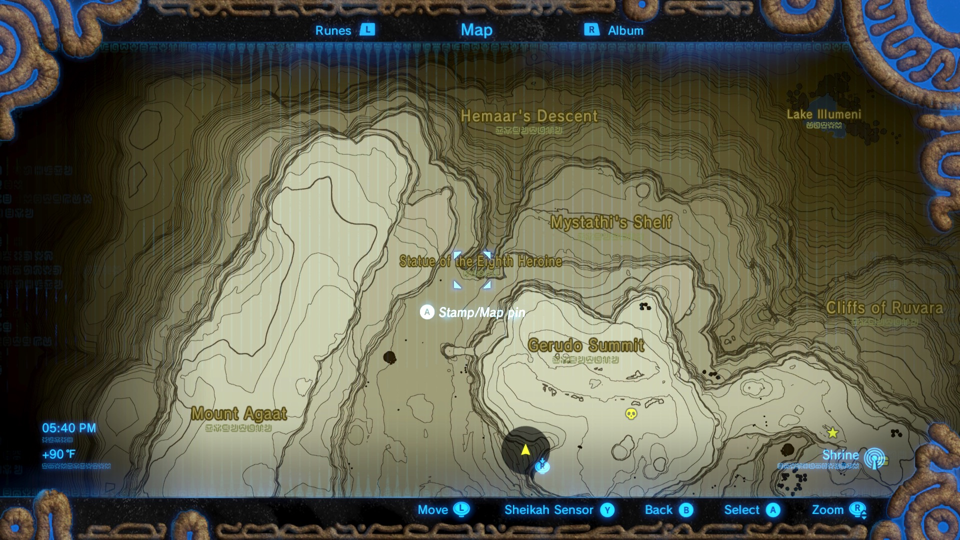 Zelda Breath Of The Wild Guide The Eighth Heroine Location And How To Get Sand Boots Polygon I know it's in the gerudo highlands. zelda breath of the wild guide the