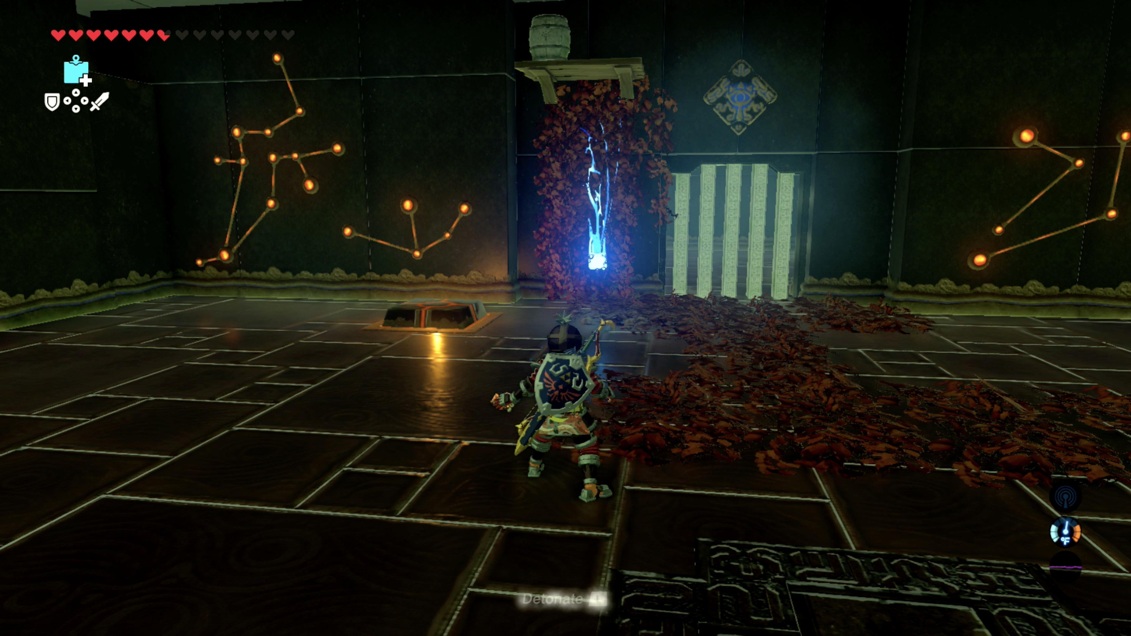 Zelda breath of the wild guide shae mo 39 sah shrine for Bureau zelda