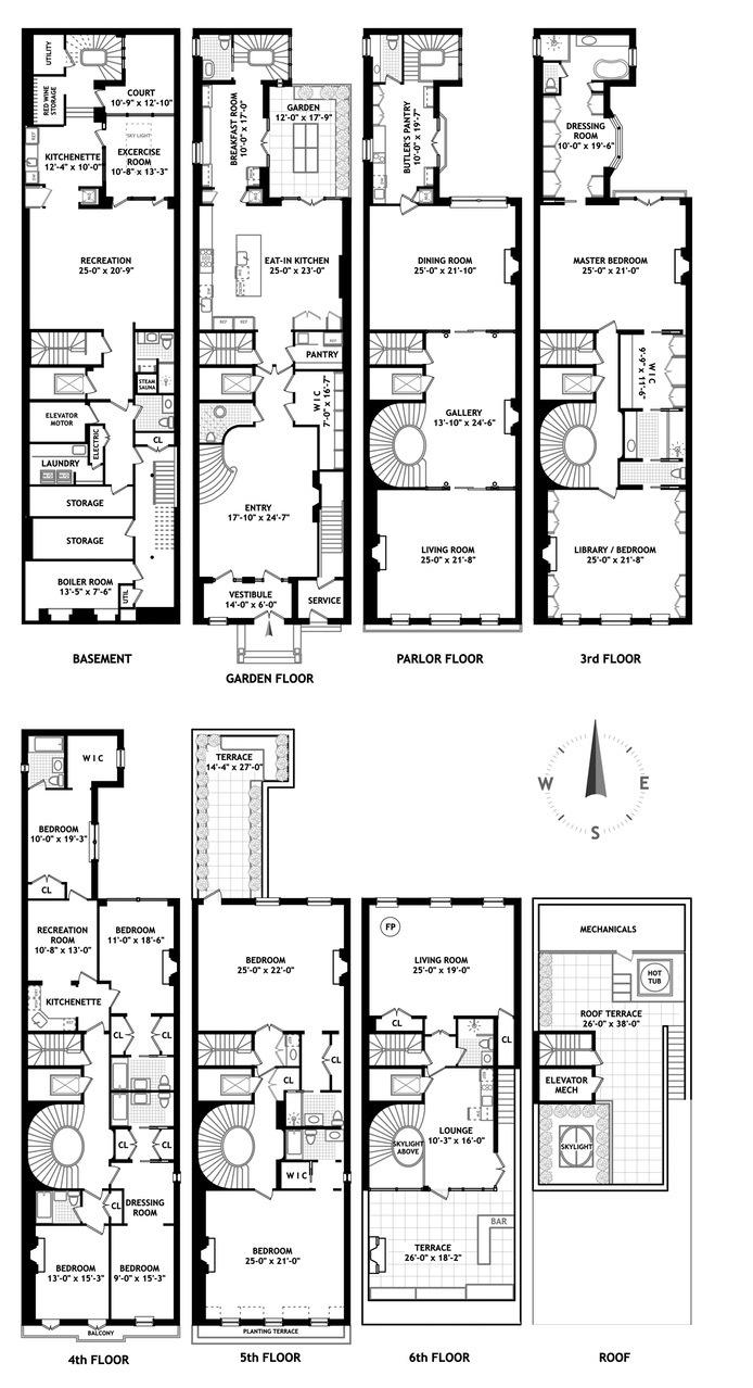 15000 Square Feet House Design: Historic Upper West Side Mansion Near Central Park Seeks