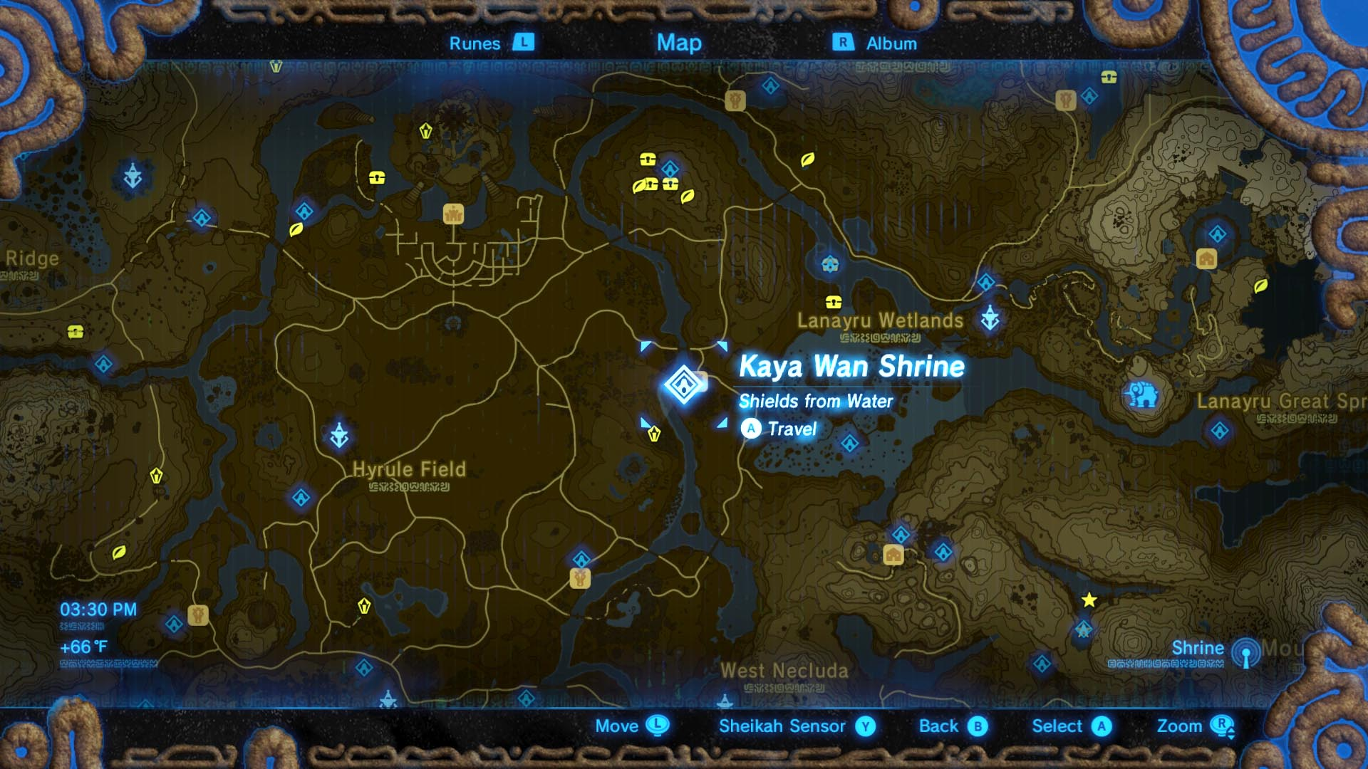 Zelda Botw Shrine Map >> Zelda: Breath of the Wild guide: Kaya Wan shrine location and puzzle solutions - Polygon