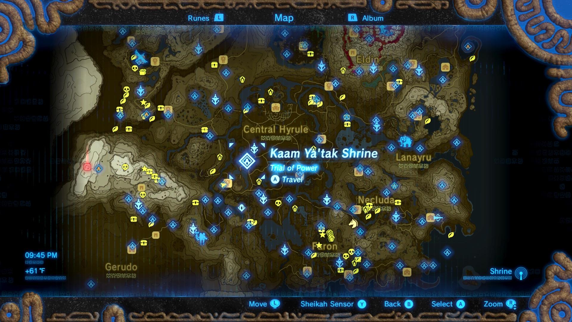 Zelda: Breath of the Wild guide: Kaam Ya'tak shrine