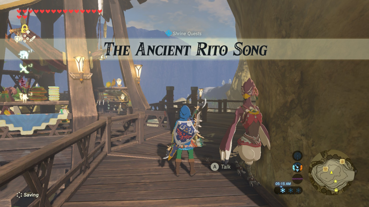 Zelda Breath Of The Wild Guide The Ancient Rito Song Shrine Quest