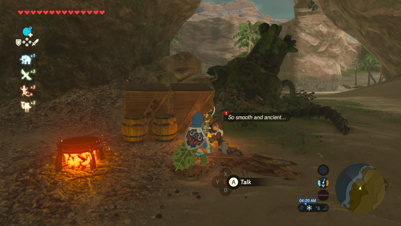 Zelda Breath Of The Wild Guide Guardian Slideshow Shrine Quest