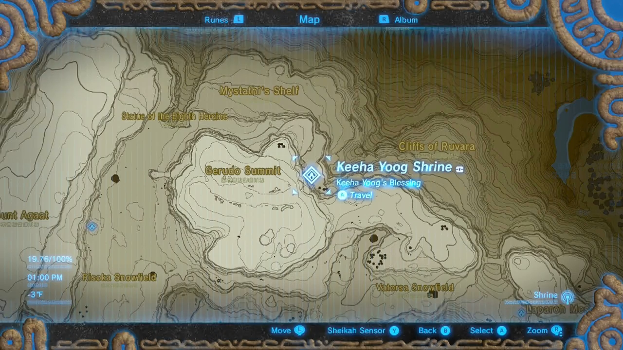 Zelda: Breath of the Wild guide: Keeha Yoog shrine ...