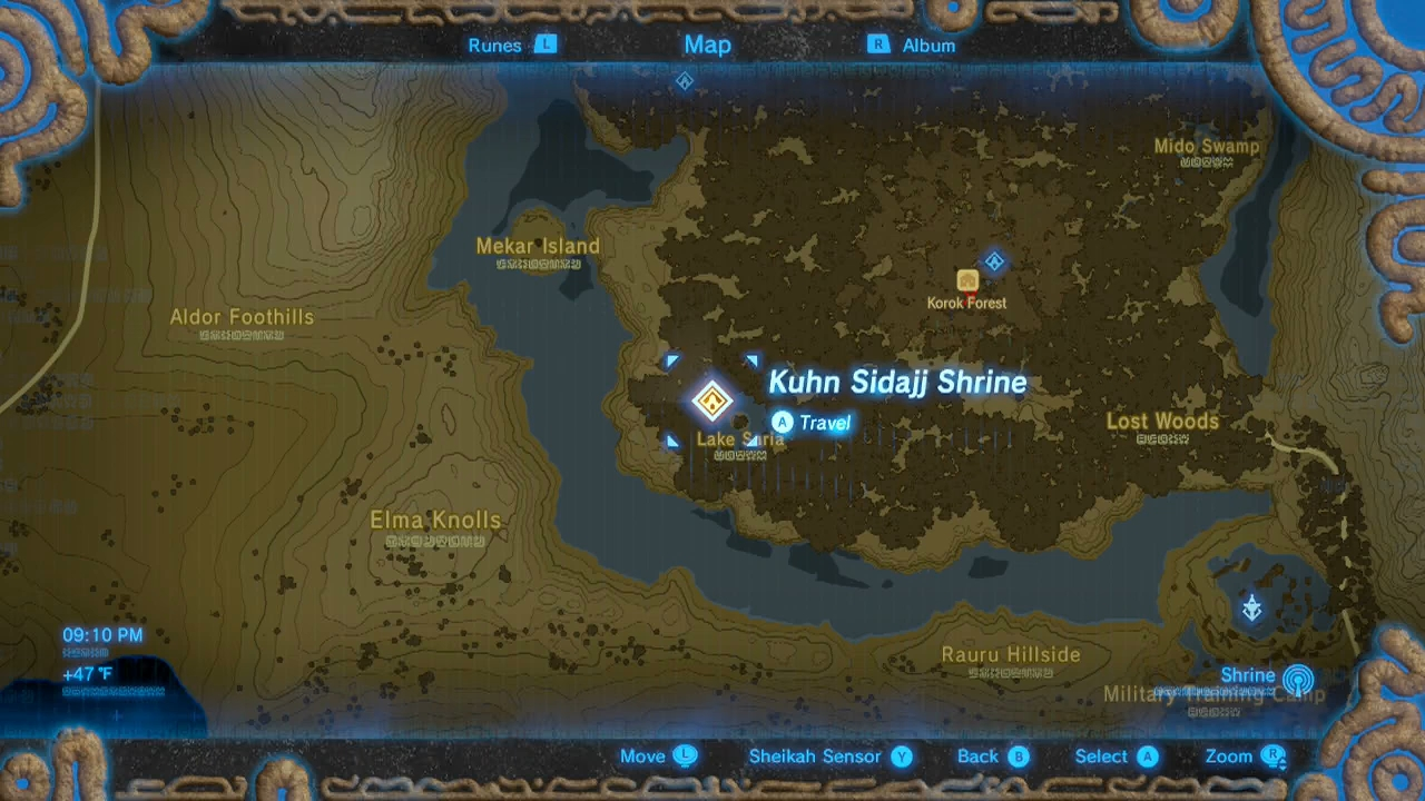 Zelda: Breath of the Wild guide: Kuhn Sidajj shrine (Trial of Second