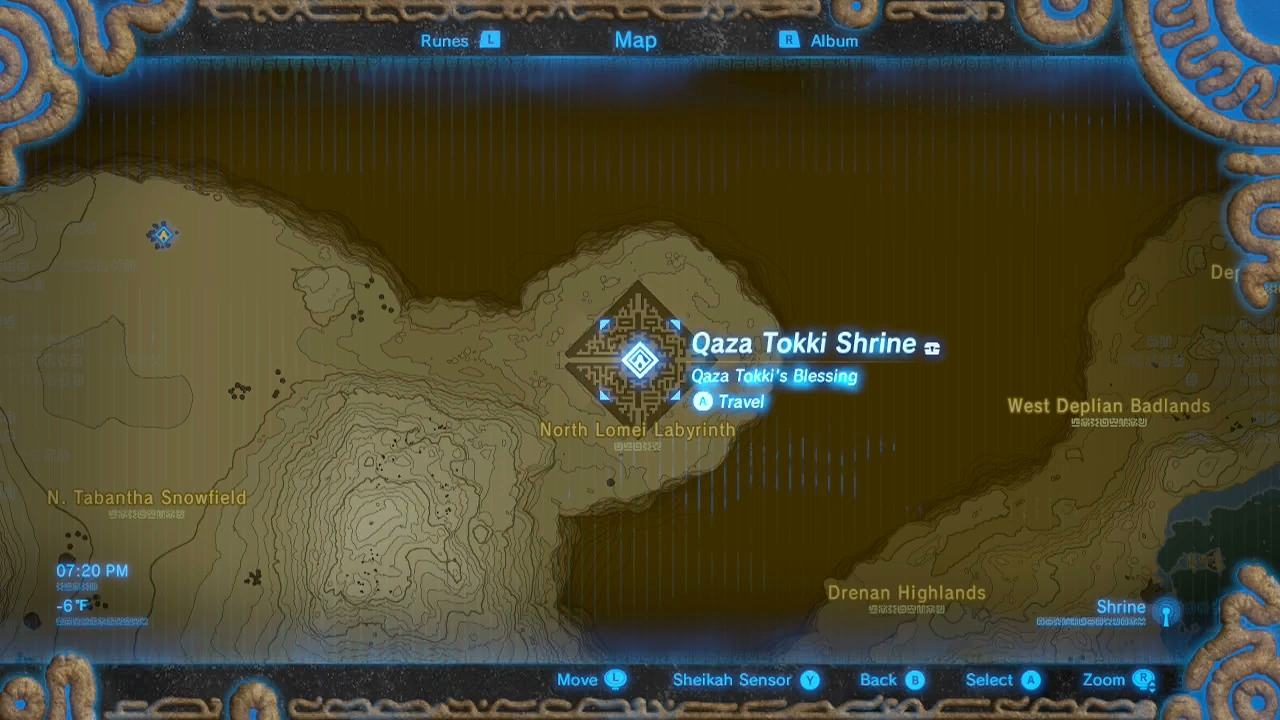 Zelda Breath Of The Wild Guide Qaza Tokki Shrine Trial