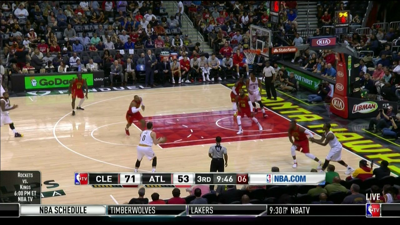 Cavs collapse, Hawks overcome 26-point deficit for OT win