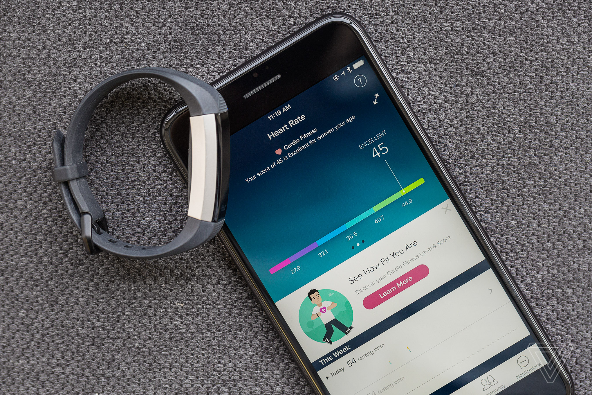 Fitbit Alta Hr Review A Much Better Activity Tracker Than I Jivo Sports Armband Black Vpavic 170409 1602 00740