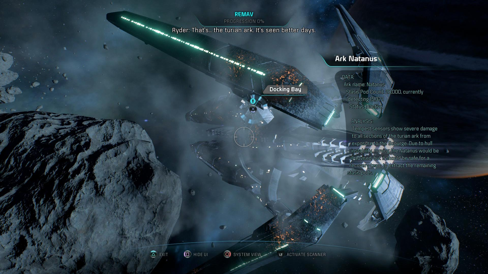 Mass Effect Andromeda Guide Turian Ark Missions Walkthroughs Polygon