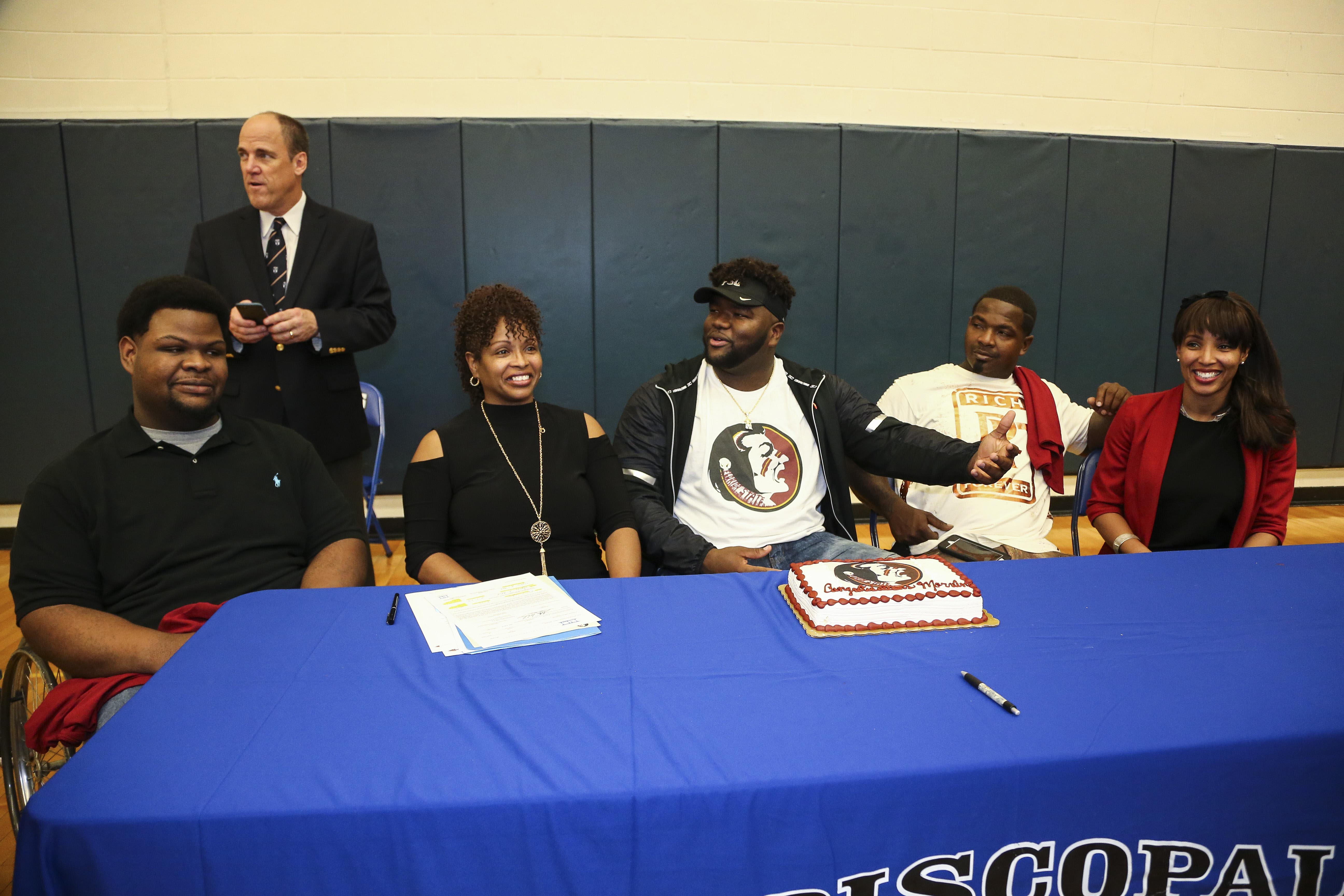 High School Football: National Signing Day-Marvin Wilson