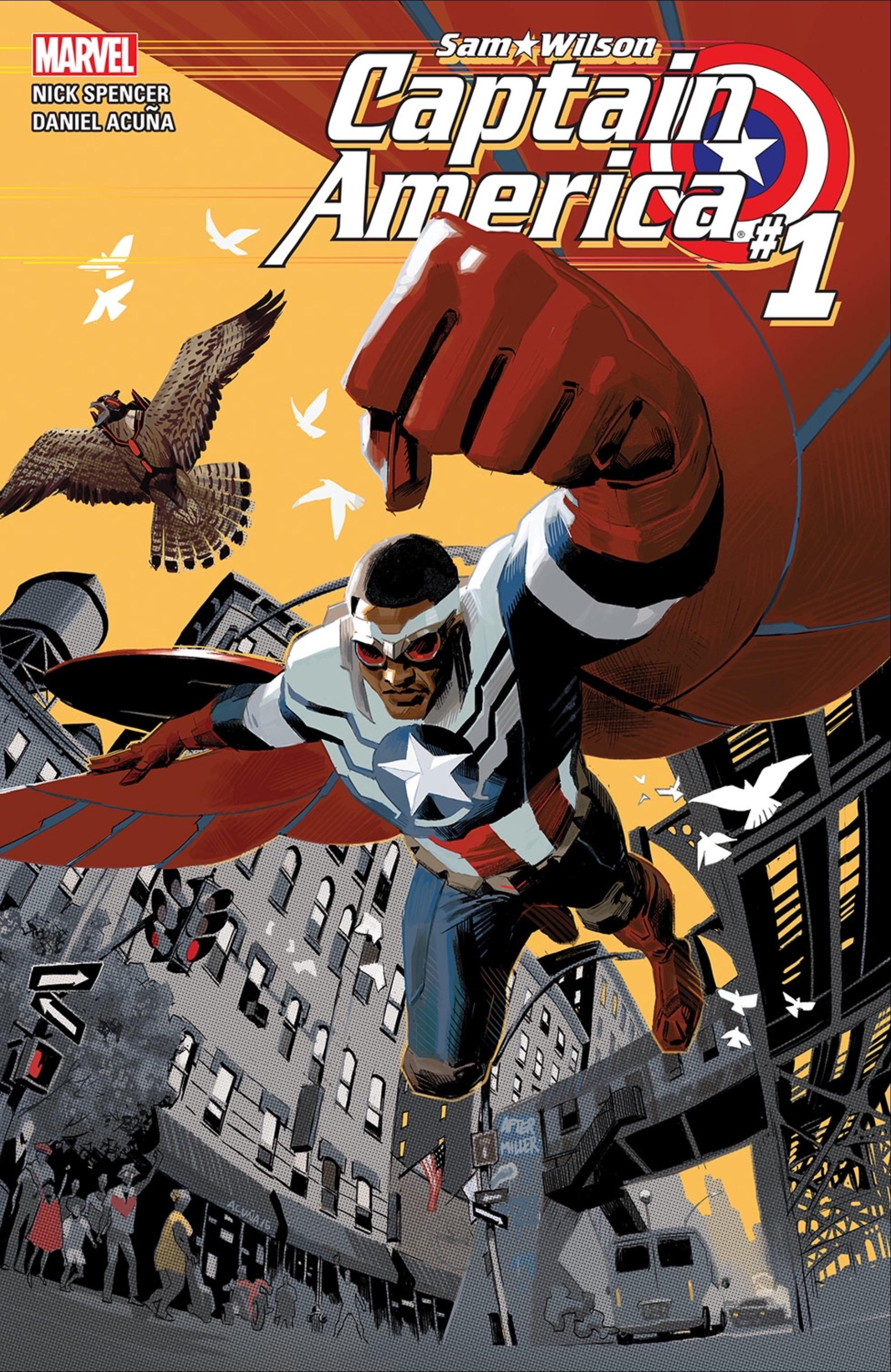 Captain America: Sam Wilson #1 cover