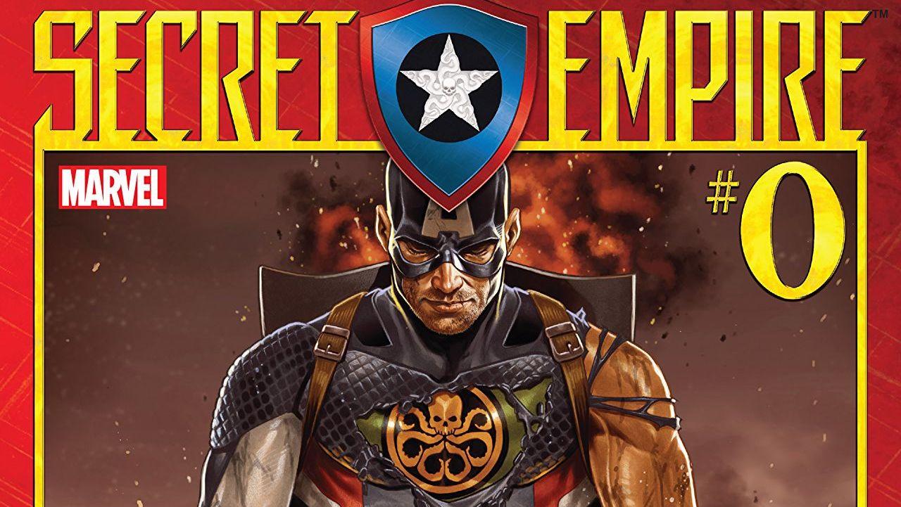 Secret Empire #0 cover