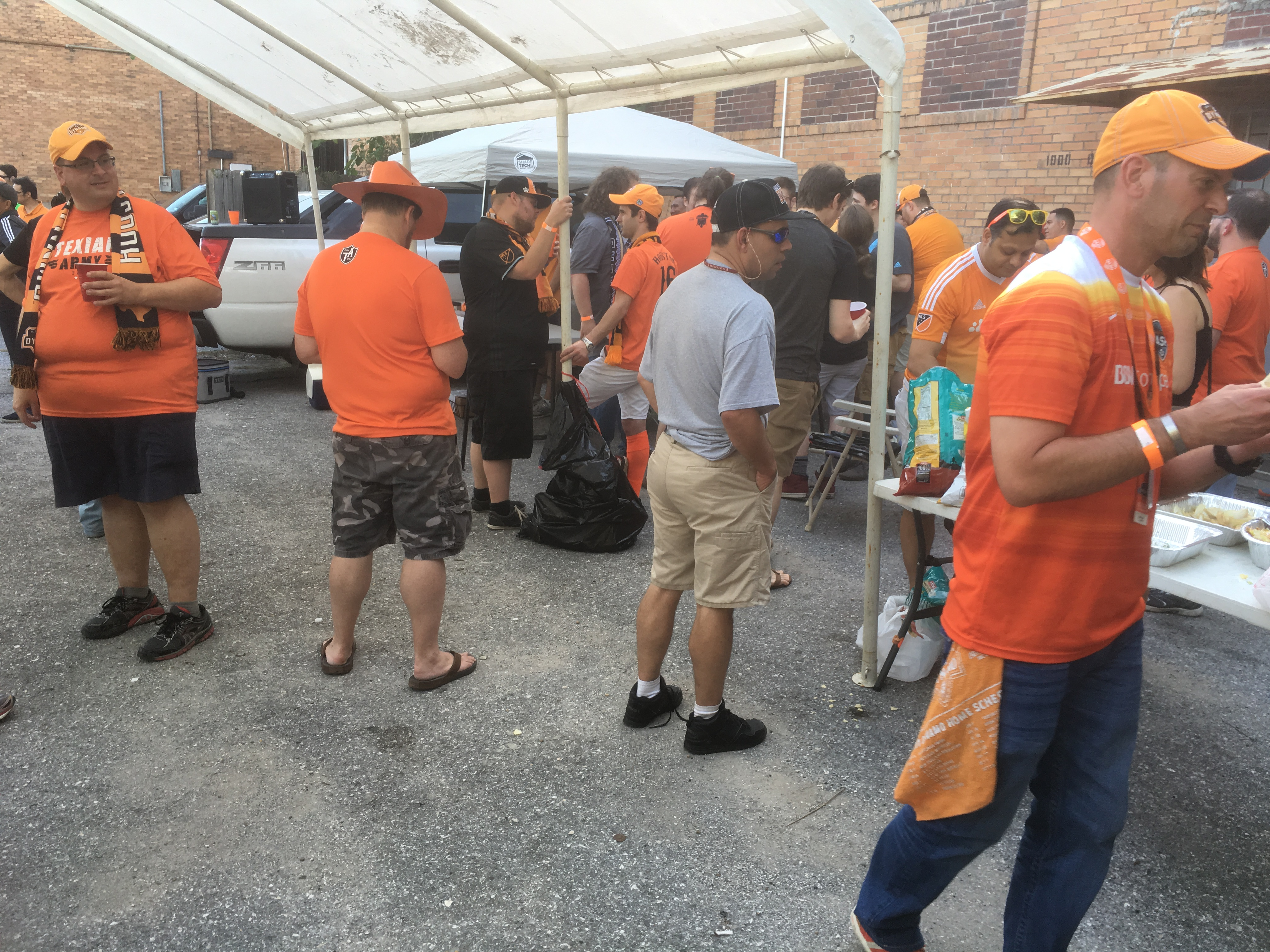 A Night Out At BBVA Compass Stadium