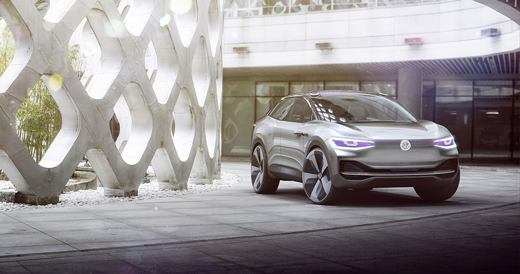 Volkswagens Id Crozz Is A Sharp Electric Concept With A Terrible