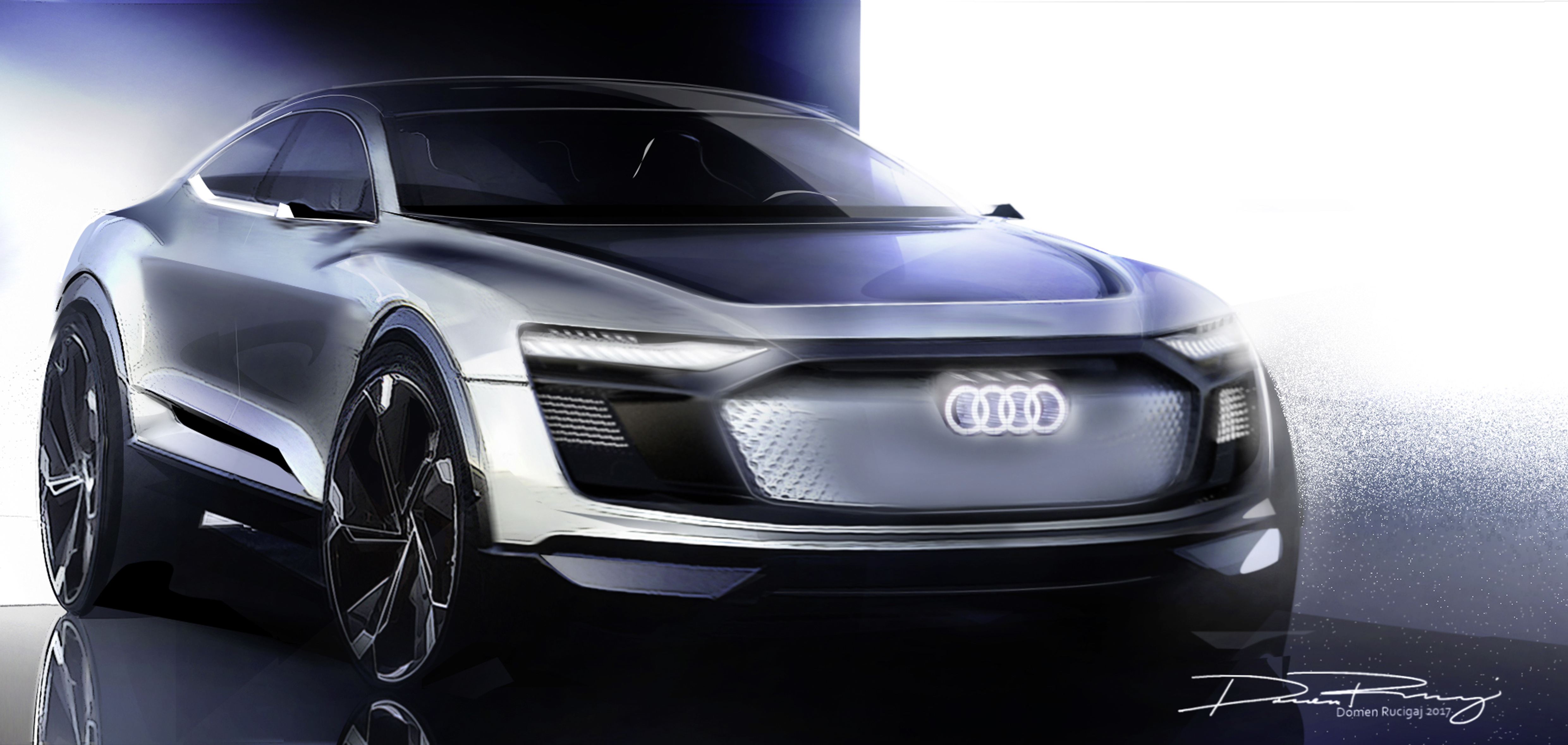 Audis new electric car concept is pretty obviously from the
