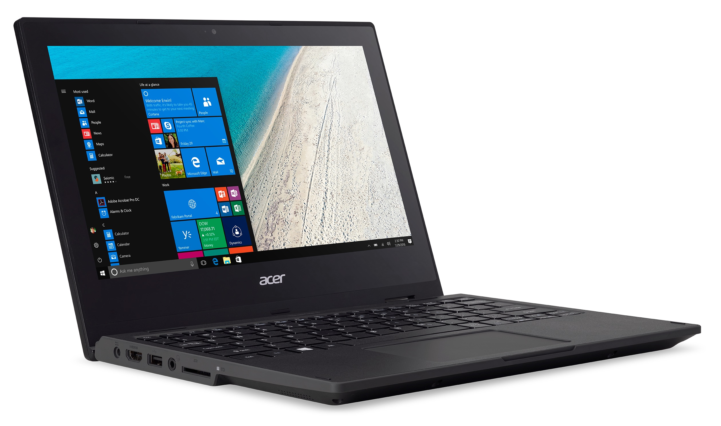 Acer TravelMate Spin B1 Convertible with Windows 10 S