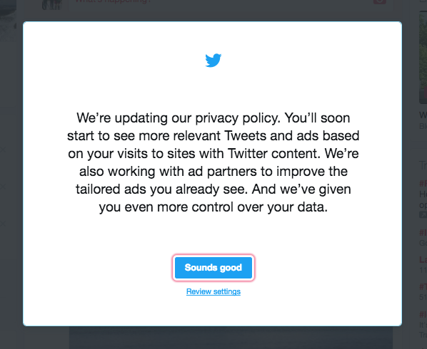 If you have a Twitter account, change these privacy settings now