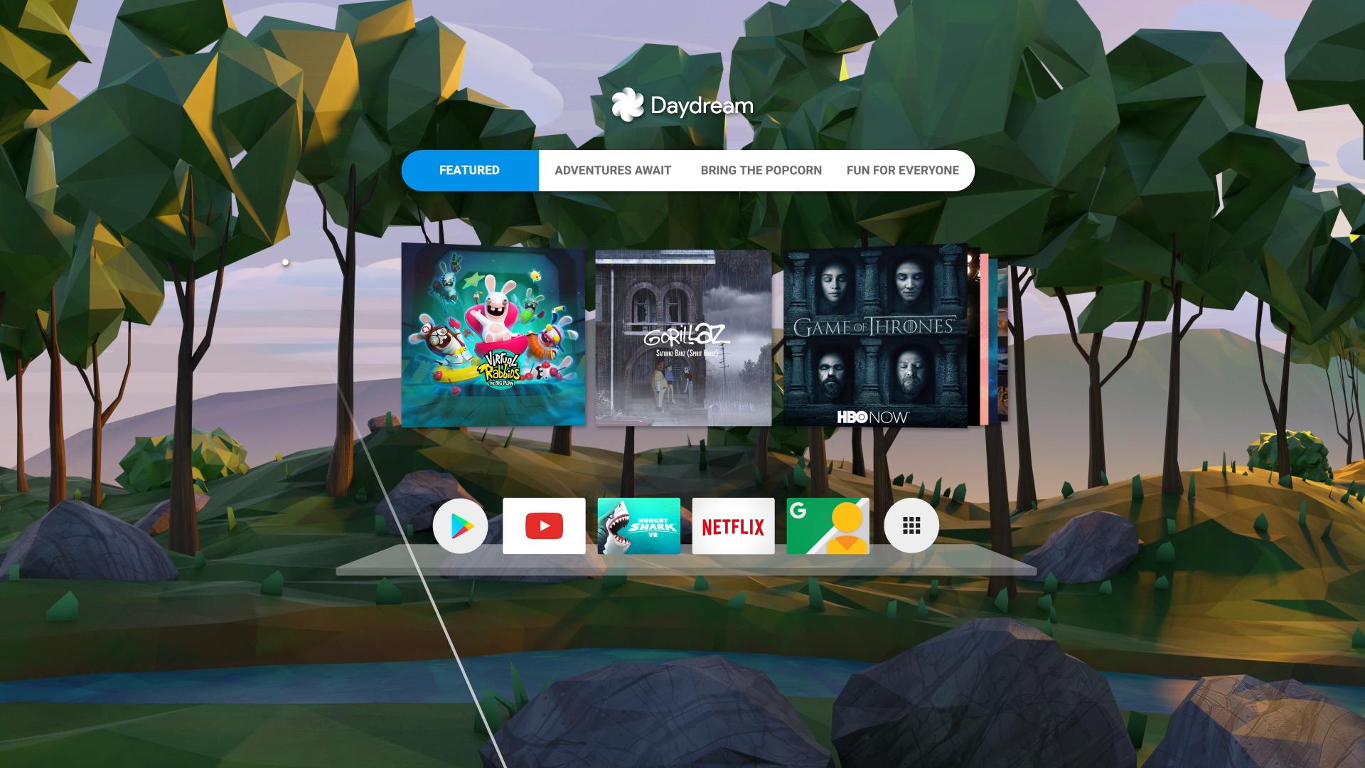Google Daydream Home