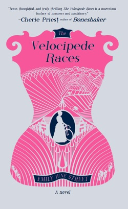 The Velocipede Races, by Emily June Street