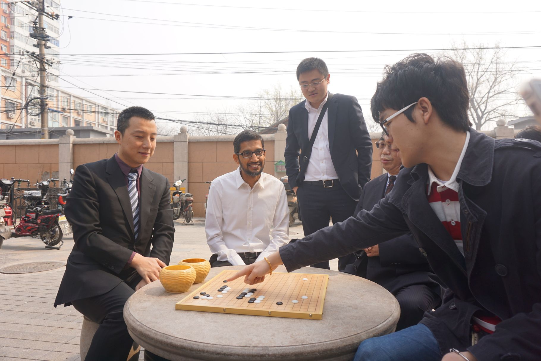 Computer beats Chinese champion in ancient board game of go