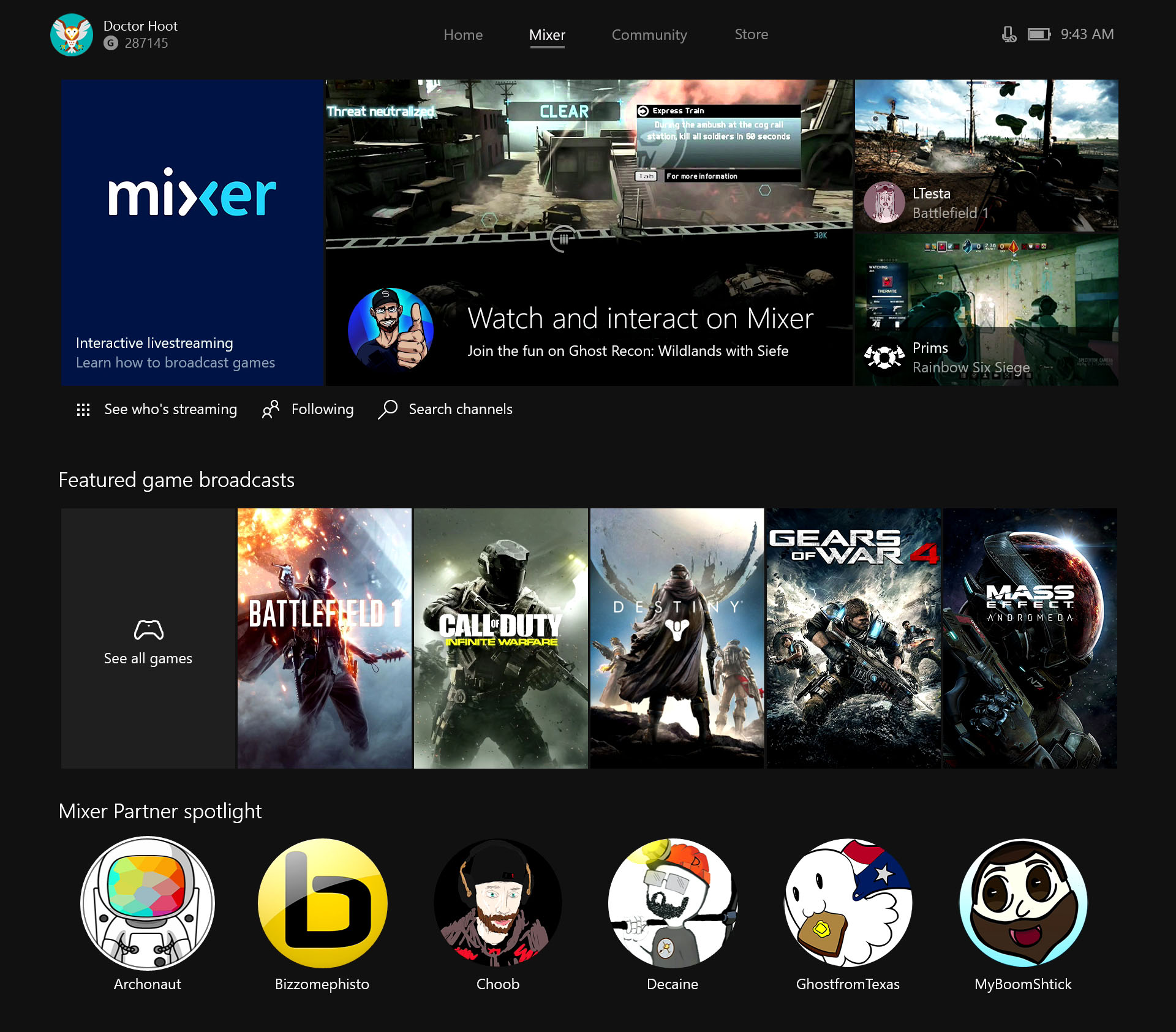 Microsoft's Beam renamed to Mixer, adds co-op streaming