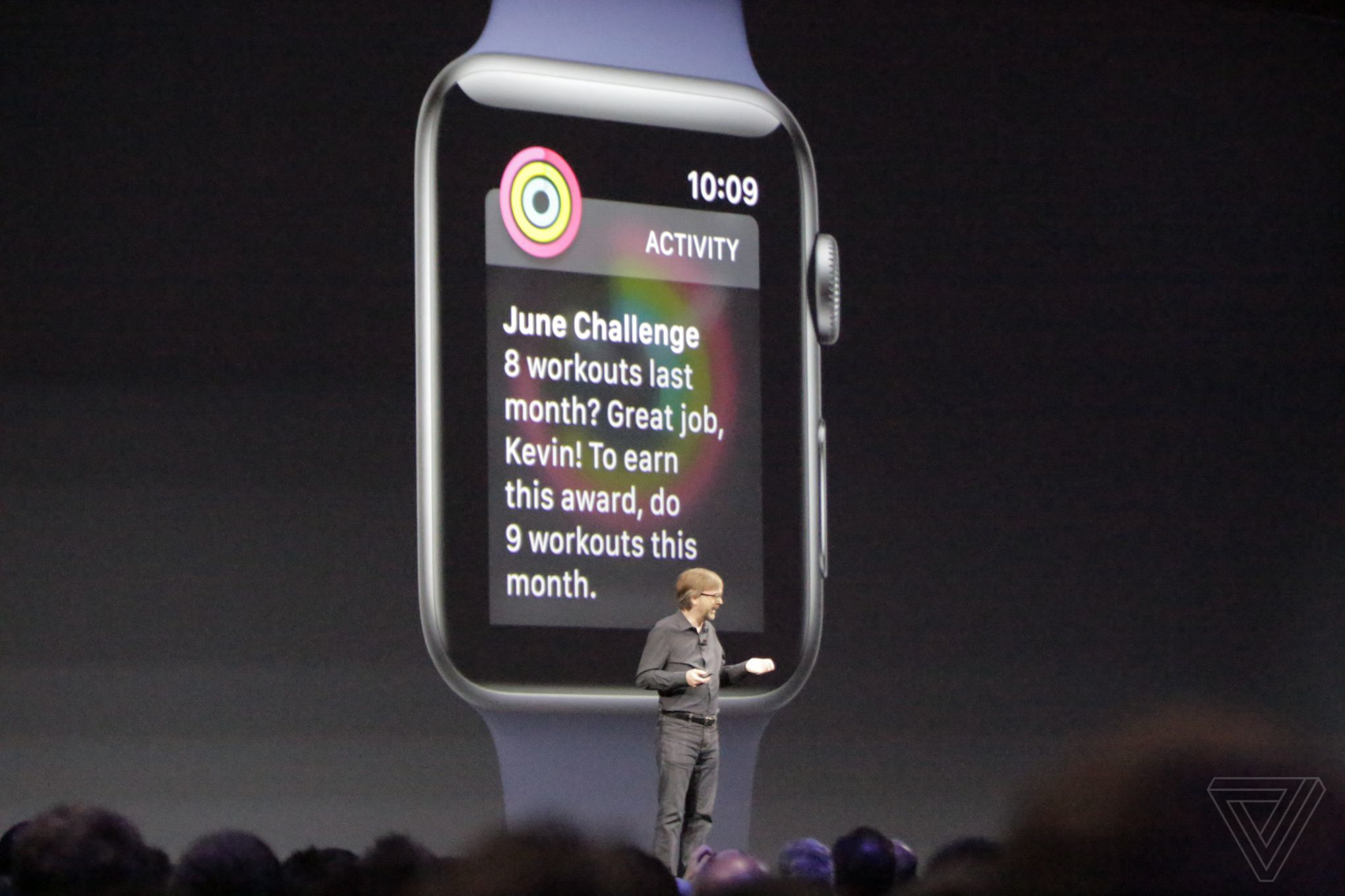 Apple shows off watchOS 4