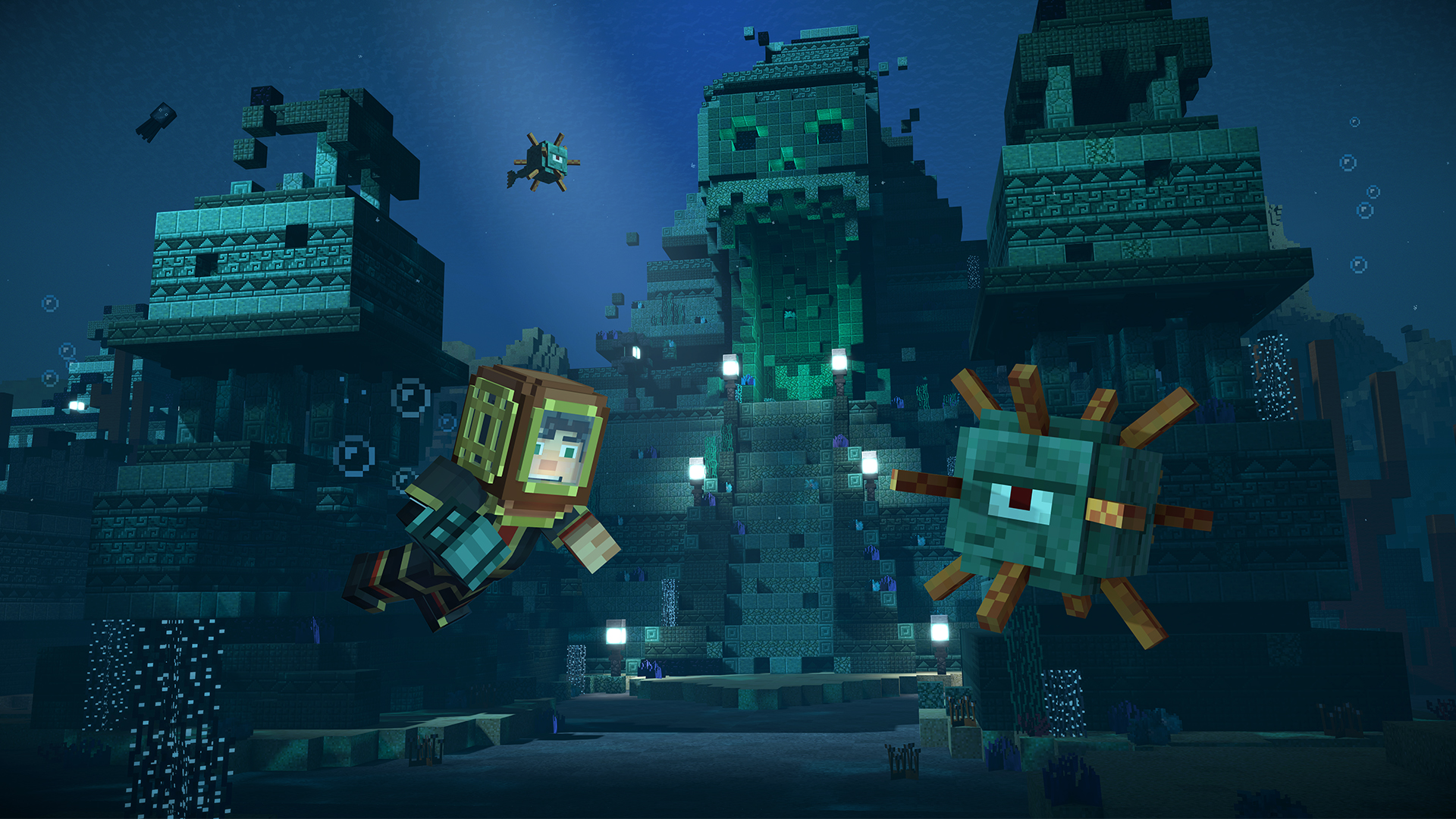 Minecraft story mode returns for a second season in july for Final fortress blueprints