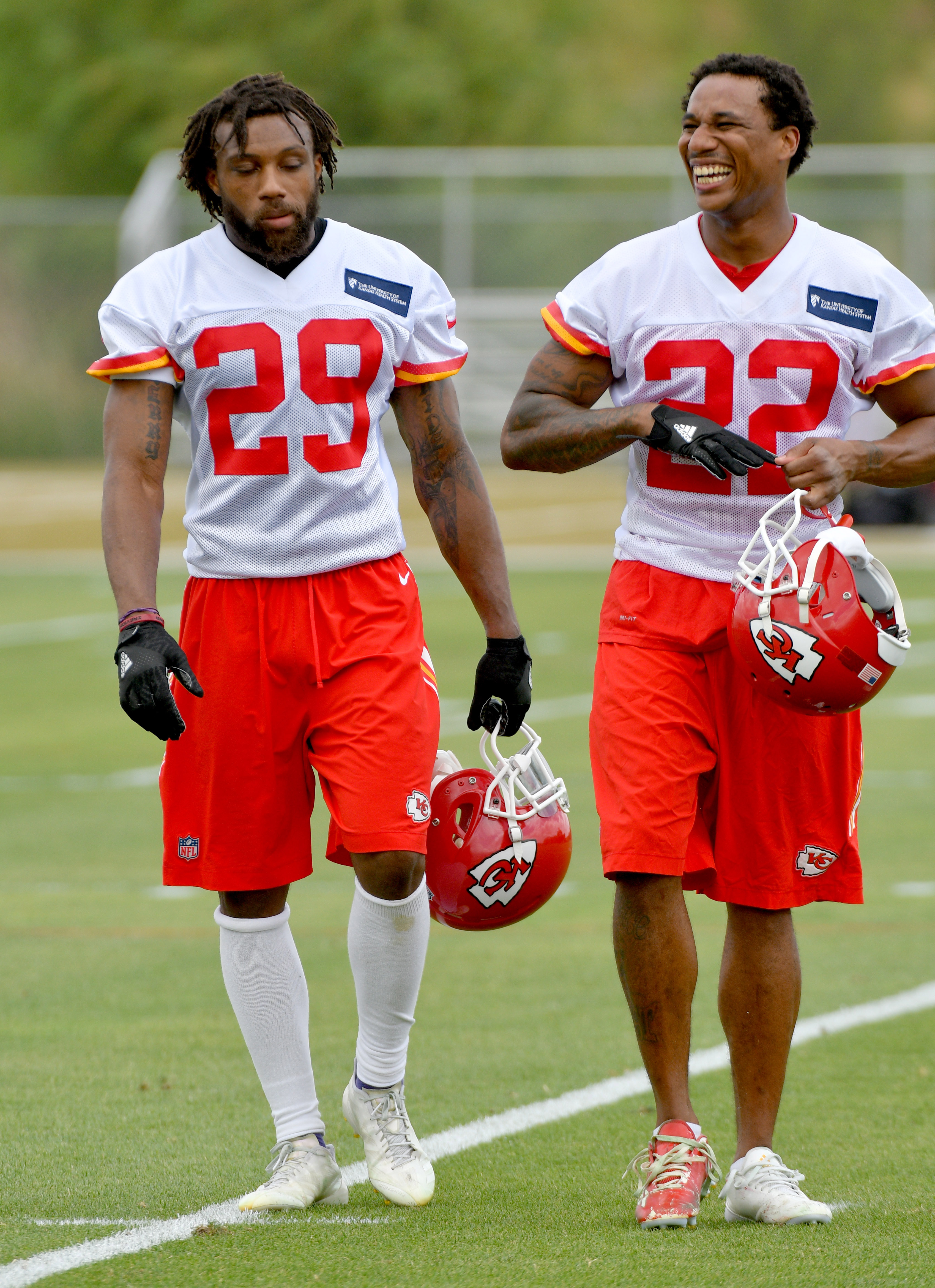 Check out pictures of Eric Berry Marcus Peters and Justin Houston