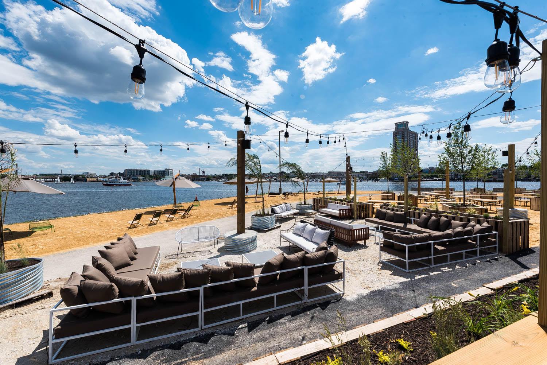 Spike Gjerde\'s Sandlot Brings Beach Dining to Baltimore - Eater DC