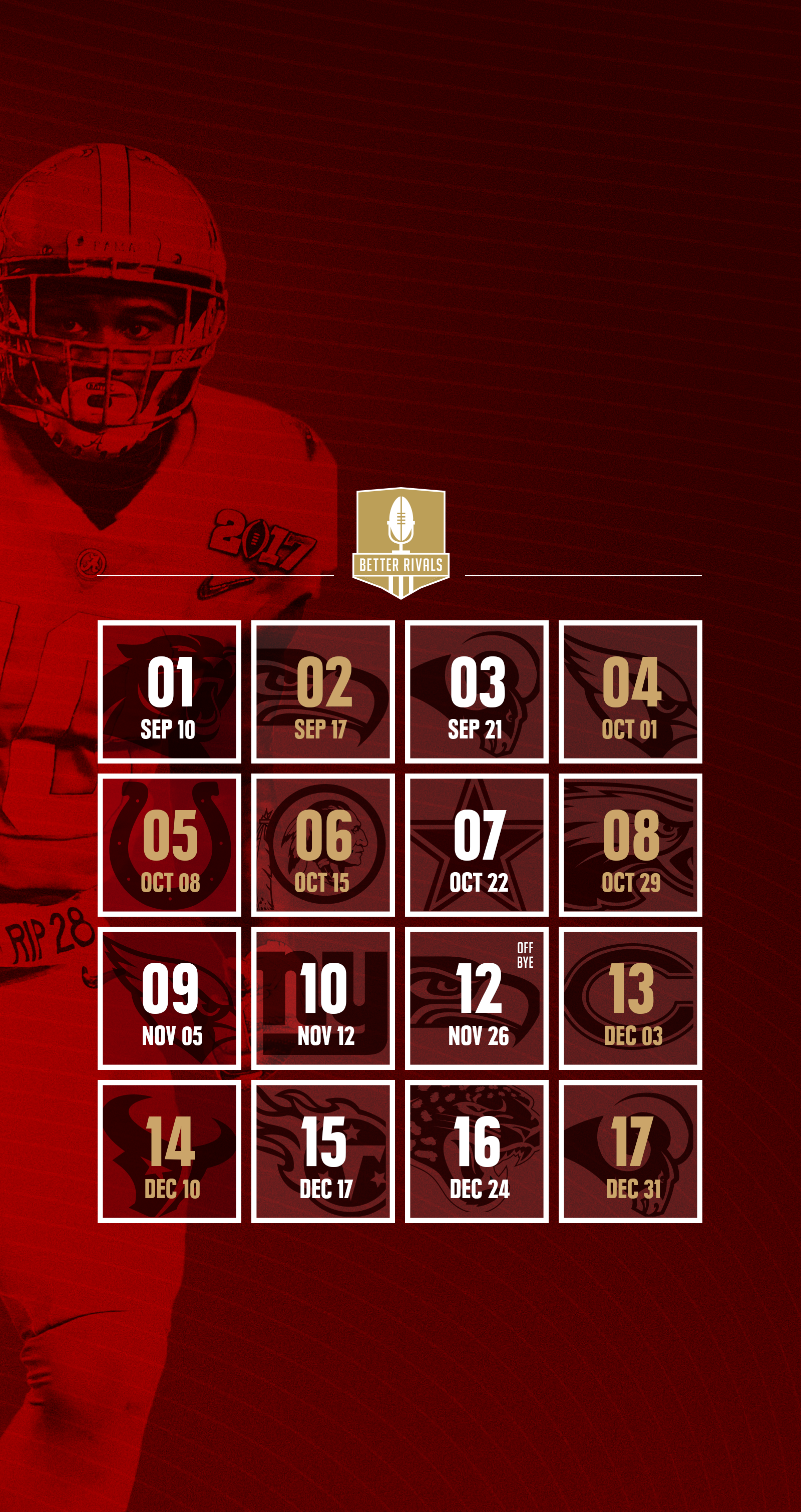 49ers 2017 schedule wallpapers for iphone android desktop 1 of 7 voltagebd Images