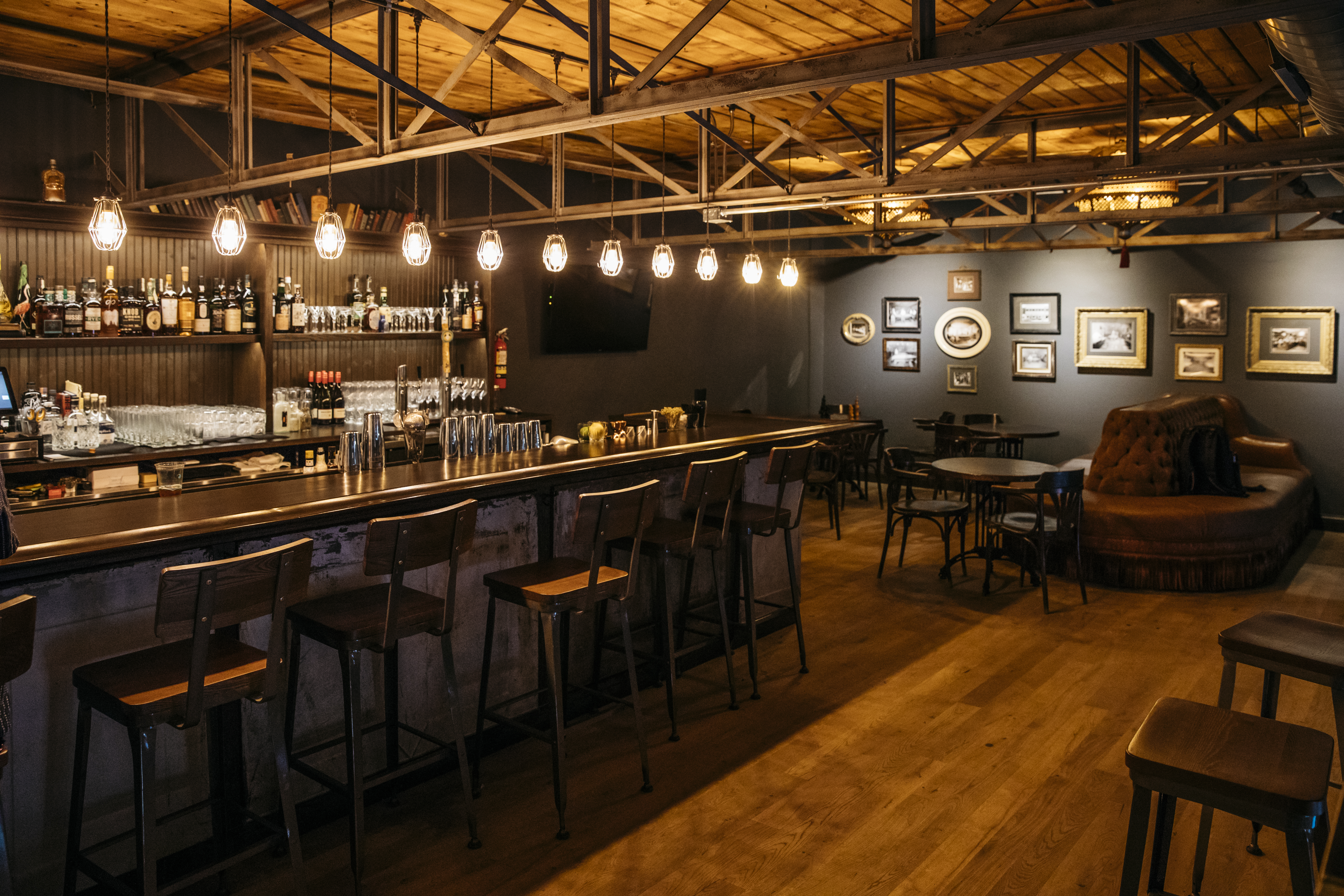 Gerards Pool Hall Brings OldSchool Style And Amusement To RiNo - Old school pool table