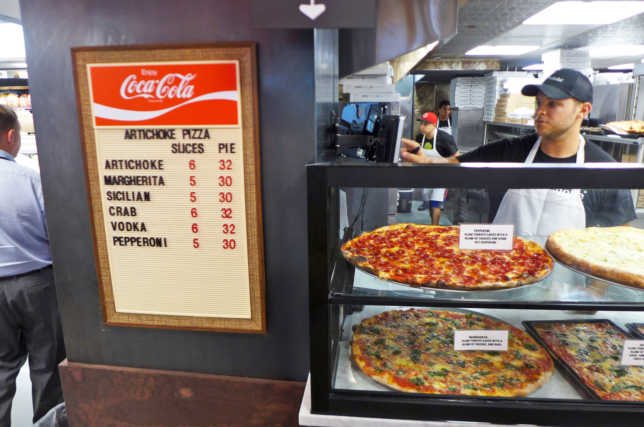 Artichoke Basille S Pizza Long Island City Ny
