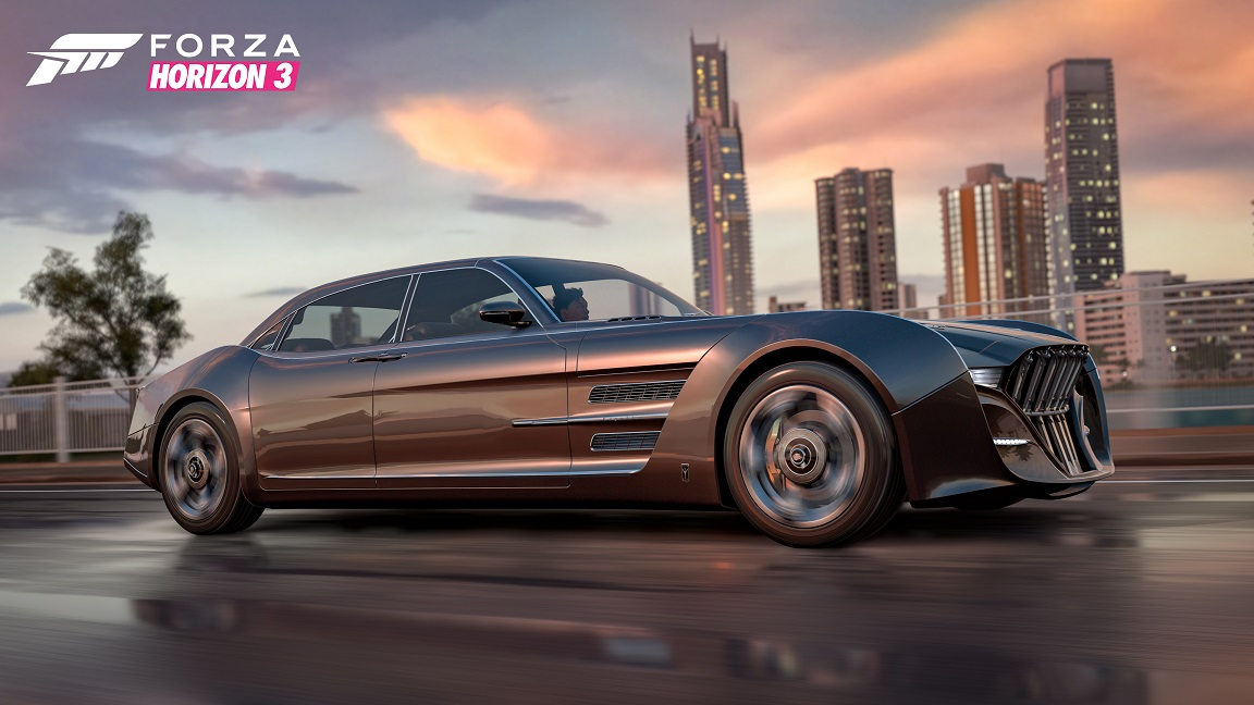 final fantasy xv s ultra luxurious regalia car is coming to forza horizon 3 the verge. Black Bedroom Furniture Sets. Home Design Ideas