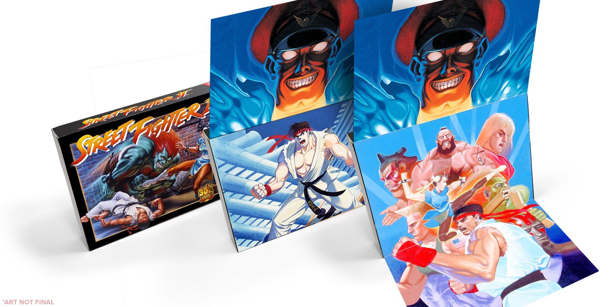 Capcom re-releasing Street Fighter 2 on SNES cartridge - Polygon